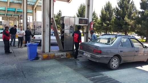 جایگاه گاز CNG آذربایجان رفع نقص شد/ جایگاه گاز CNG آذربایجان با تمام ظرفیت فعال شد