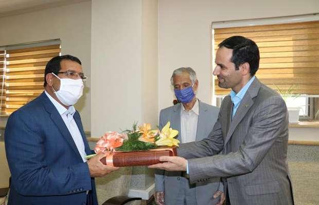 دیدار هیئت رئیسه سازمان نظام مهندسی ساختمان با رئیس کل دادگستری استان کرمان