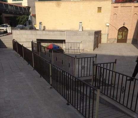 تکمیل عملیات عمرانی در سرویس بهداشتی میدان شهید بهشتی