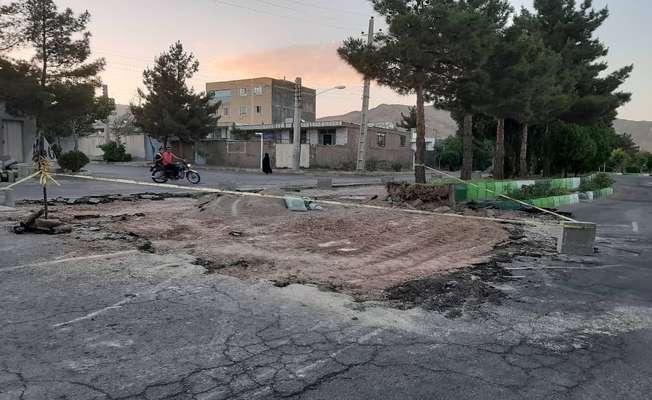 بازدید میدانی شهردار شاهرود مهندس حاجی محمد علی از اجرای طرح های هندسی در معابر  شهرک امام