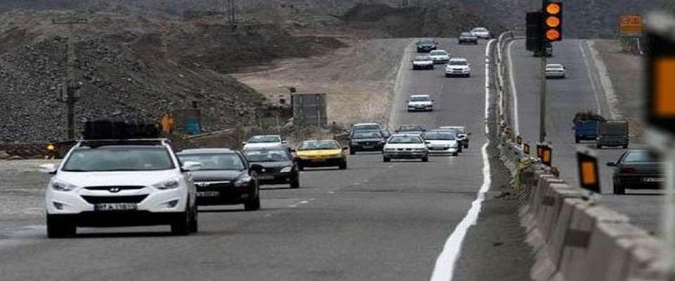 افزایش ۱.۶ درصدی تردد در جاده های برون شهری