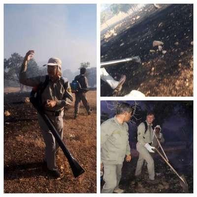 مهار آتش منطقه حفاظت شده دنا با فرماندهی مدیرکل حفاظت محیط زیست