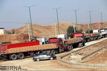 تمامی واگنهای کالای صادراتی متوقف در اینچه برون به ترکمنستان رسید