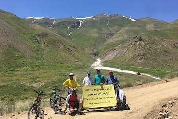 اجرای برنامه تور دوچرخه سواری کوهستان گچسر به طالقان