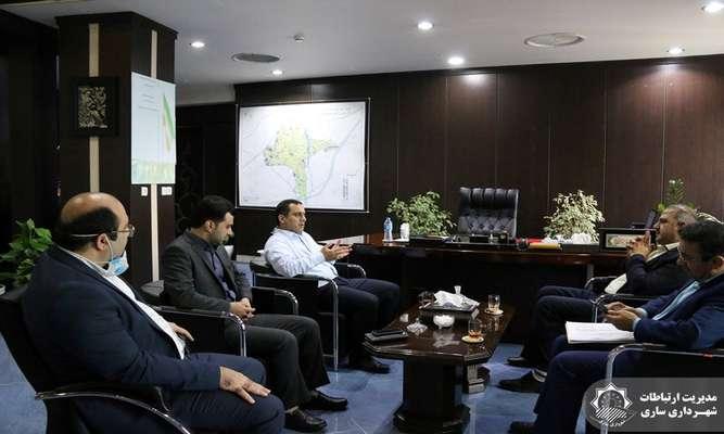 دیدار شهردار ساری و مدیر کل راه و شهرسازی مازندران