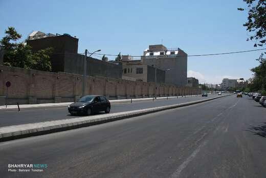 خیابان عطار نیشابوری در آستانه بهرهبرداری