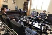 نشست رئیس اداره برنامه ریزی مسکن و بازآفرینی با شهردار منطقه یک بجنورد