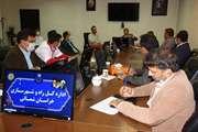 جلسه کارگروه راه و شهرسازی ذیل شورای پدافند غیر عامل استان روز یکشنبه 8 تیر ماه 99