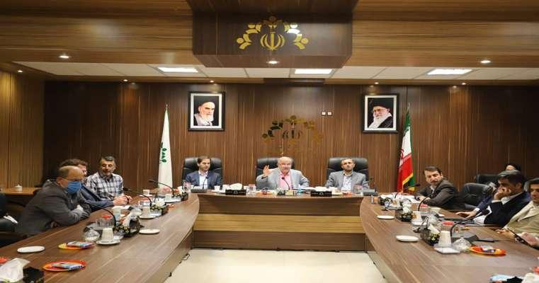 گزارش تصویری کمیسیون مشترک عمران و برنامه و بودجه شورای اسلامی شهر رشت