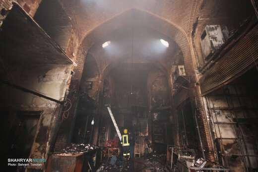 اطفا ۲هزار و ۴۳۷مورد آتشسوزی در سال گذشته/ تجهیزات اعلام حریق بازار تبریز هوشمندسازی میشود
