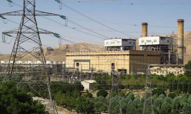 ۳۵۱ میلیون کیلووات ساعت انرژی در نیروگاه اصفهان تولید شد