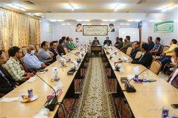 جلسه تکریم و معارفه کمیسیون های تخصصی نظام مهندسی قم
