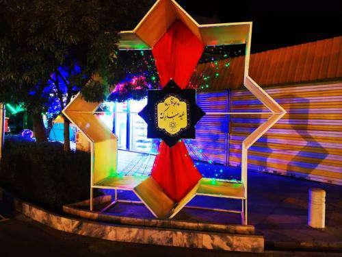 زیباسازی ویژه سطح شهر مشهد با المان های «شمسه» و «یا امام رضا (ع)»