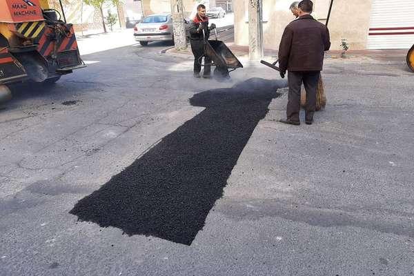 525 متر از معابر ناحیه شهری شهیدبابایی لکهگیری شد