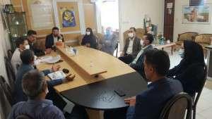 جلسه کارگروه تخصصی ساماندهی مکان بازار روز میوه وتره بار شهرداری تفرش