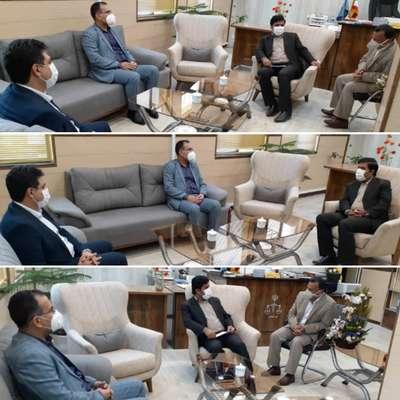 دیدار شهردار خرمشهر با ریاست دادگستری و دادستان خرمشهر جهت عرض تبریک به مناسبت هفته قوه قضائیه