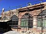 مرمت و بازسازی جداره مسجد تاریخی میدان ارومیه