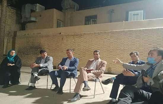 تلاش برای توسعه و آبادانی تمامی مناطق شهر مهریز سرلوحه خدمات و فعالیت های شهرداری است
