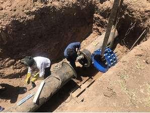 برطرف شدن مشكل كمبود و افت فشار آب در دو روستاي شهرستان آشتيان