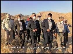 بازدید نماینده دشتستان در مجلس شورای اسلامی از سد دالکی