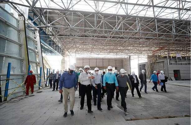 تاکید رئیس بنیاد مستضعفان بر اتمام پروژه ترمینال جدید فرودگاه کیش تا بهمن