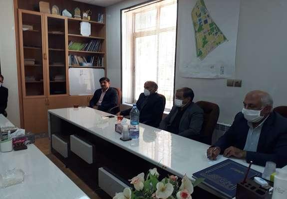 دیدار نماینده مجلس شورای اسلامی با اعضای شورا و شهردار سربیشه