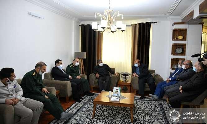 ورود پیکر شهید کمالی عطر و بوی دیگری به شهر ساری داده است