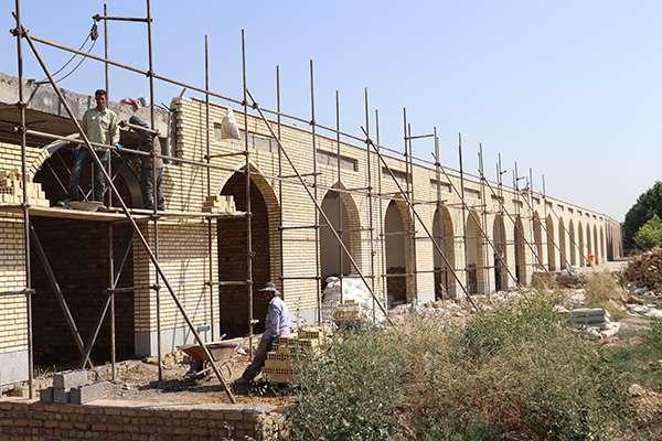 پیشرفت 75 درصدی ساخت 8 حجره خانوادگی در بهشت فاطمه(س) قزوین