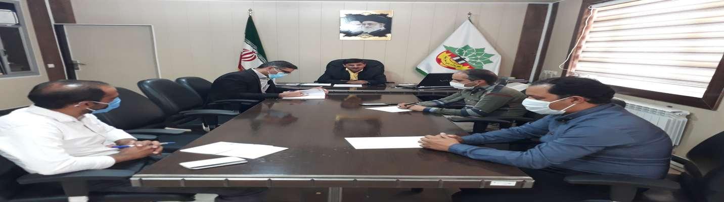نشست خبری شهردار سربیشه به مناسبت هفته شهرداری ها