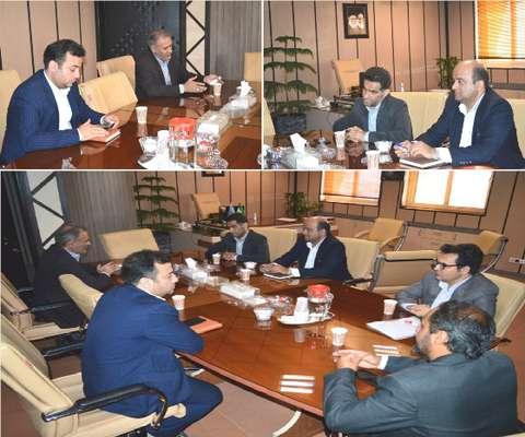 نشست مشترک مدیرکل با مدیرکل امور افتصادی و دارایی استان قم