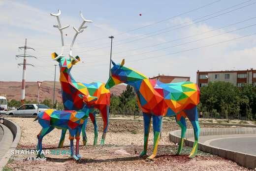 المان ها در تبریز ، نمایشگاهی به وسعت شهر