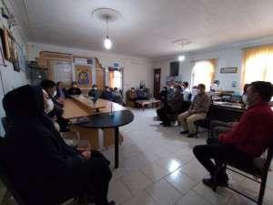 دیدار اعضای شورای اسلامی شهر تفرش با شهردار و پرسنل شهرداری به مناسبت گرامیداشت روز شهرداری