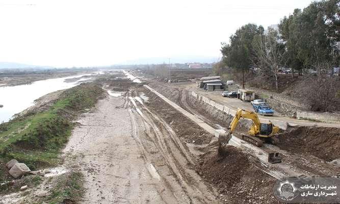 باز زنده سازی فضای شهری حاشیه رودخانه تجن