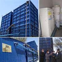 راه اندازی اولین پکیج تصفیه خانه فاضلاب شرکت آبفا خوزستان در بهبهان به روش ازن زنی