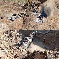 جلوگیری از هدررفت ۵۰۰۰ مترمکعب آب آشامیدنی در اهواز/ مهار شکستگی در خط انتقال ۱۰۰۰ آب حیات