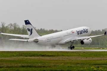 پرواز فوقالعاده «هما»به پایتخت بلاروس