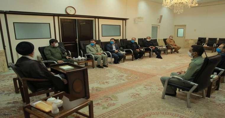 دیدار فرمانده یگان حفاظت محیط زیست با امام جمعه قم