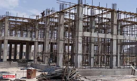 احداث ساختمان آتش نشانی در شهرک خاوران با ۷۵ درصد پیشرفت فیزیکی