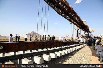 ۷۰۰۰ میلیارد تومان؛ مجموع سرمایهگذاری راهآهن زاهدان-چابهار/ این خط، تمام ایرانی است