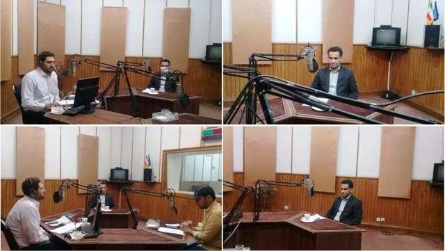 حضور مدیرکل بنیاد مسکن استان قم در برنامه رادیویی مردم و مسئولین