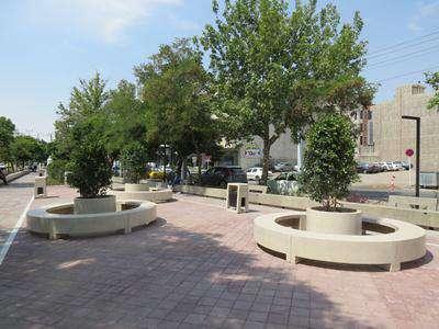 طراحی، ساخت و جانمایی مبلمان شهری فضای سبز فردوسی شمالی