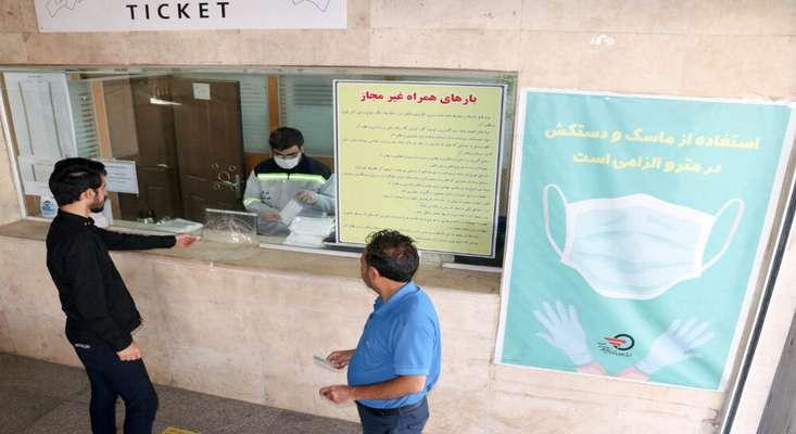 استفاده از ماسک و رعایت فاصله اجتماعی در ناوگان حملونقل عمومی تبریز الزامی شد
