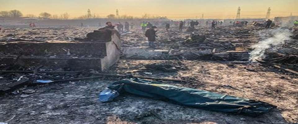 گزارش پیشرفت تحقیقات بررسی سانحه هواپیمای اوکراینی منتشر شد