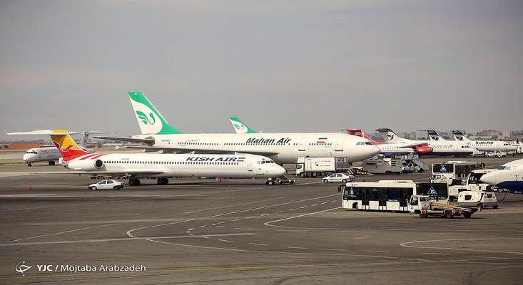 جا به جایی مسافران در فرودگاه های کشور ۴۷ درصد کاهش یافت
