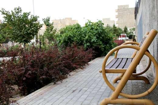 احداث ۸ پارک محلهای جدید طی سه سال گذشته در منطقه ۴ تبریز
