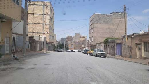 تداوم عملیات عمرانی مسیر گشایی خیابان شهید جودی