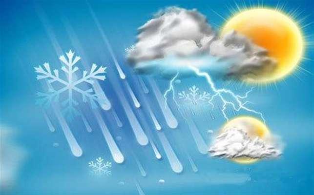 وضعیت آب و هوا در ۲۴ تیر؛ رگبار باران در سواحل شمالی کشور