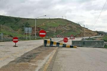 جاده هراز تا پایان امشب مسدود است