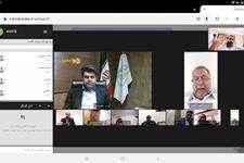 هفتاد و ششمین جلسه کمیسیون حمل، نقل و ترافیک شورای شهر به صورت ویدئو  کنفرانس برگزار شد