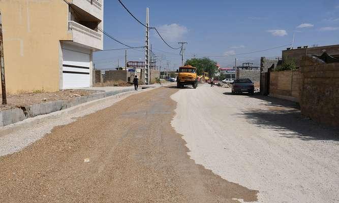 آغاز عملیات زیرسازی محله بختیاری ها در شهر یاسوج/ تصاویر